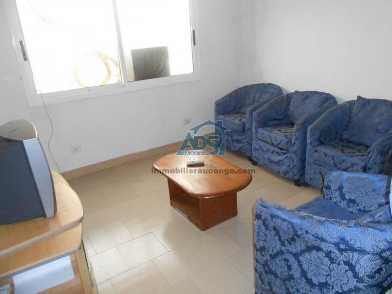 Appartement meublé et équipé 1 chambre à louer à la Gombe
