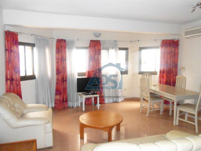 Appartement meublé de 2 chambres à louer à la Gombe