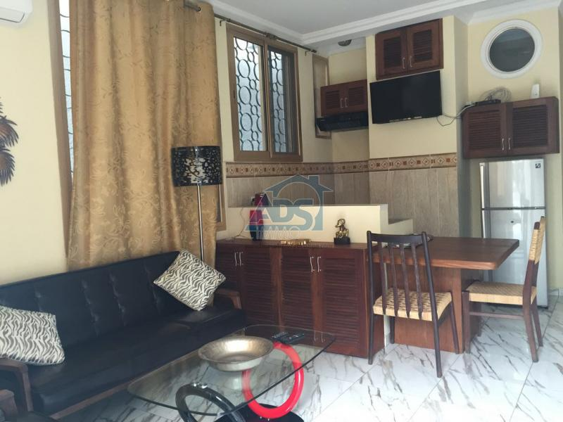 COURTE DUREE : appartement meublé 1 chambre à louer
