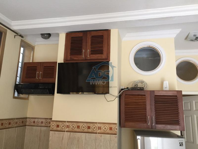 Ngaliema courte duree appartement meubl 1 chambre louer for Location meuble courte duree