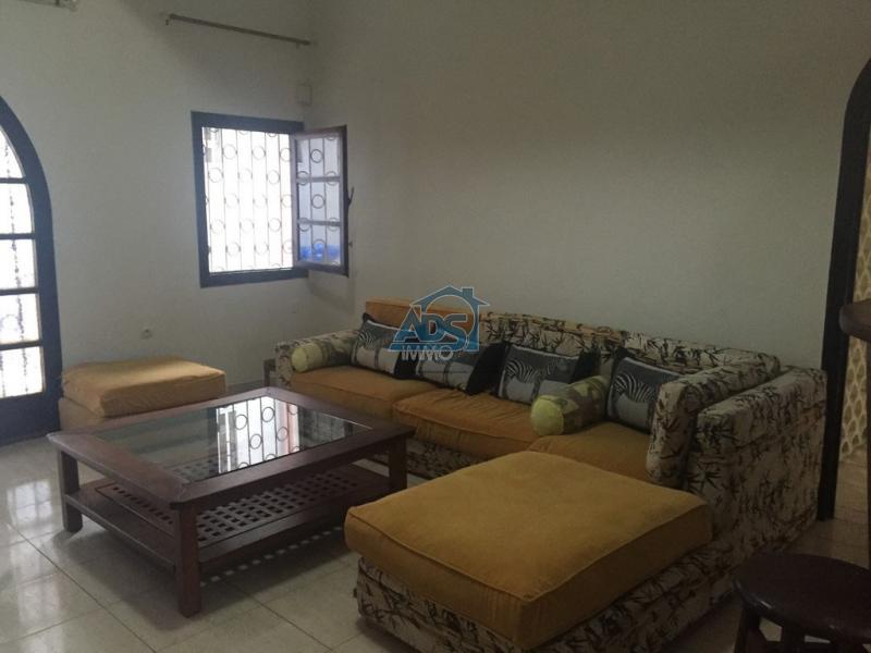 Appartement non meublé de 2 chambres à louer
