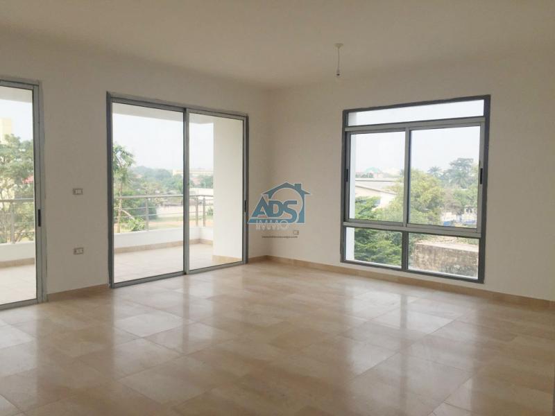 Appartement récent de 3 chambres à louer à la Gombe