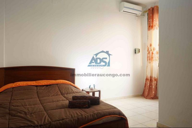 Ngaliema courte duree appartement meubl de 2 chambres for Appartement meuble a casablanca courte duree