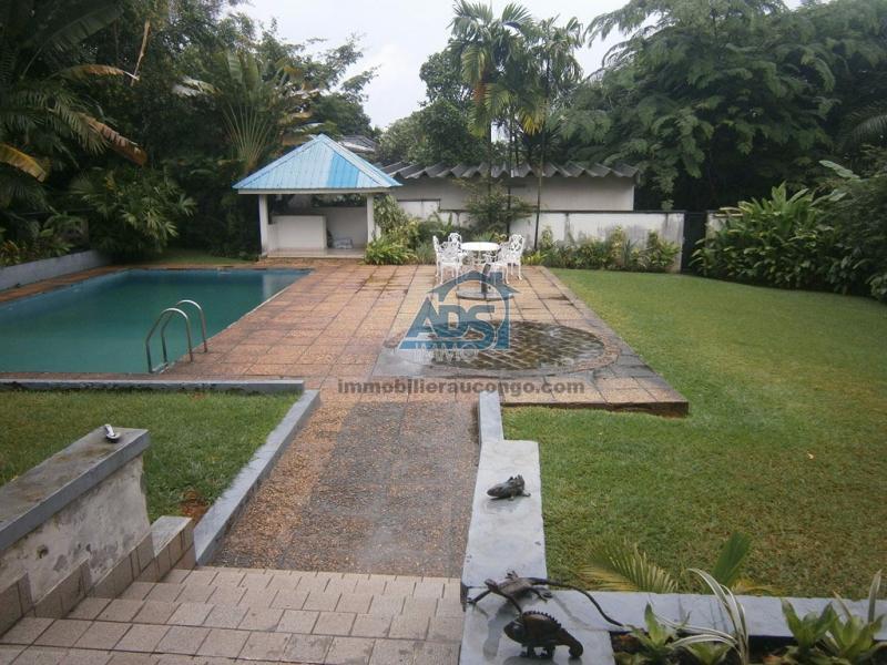 Belle villa de 3 chambres à la Gombe