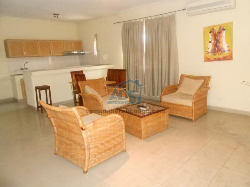 Appartement meublé de 1 chambre à louer à Kintambo