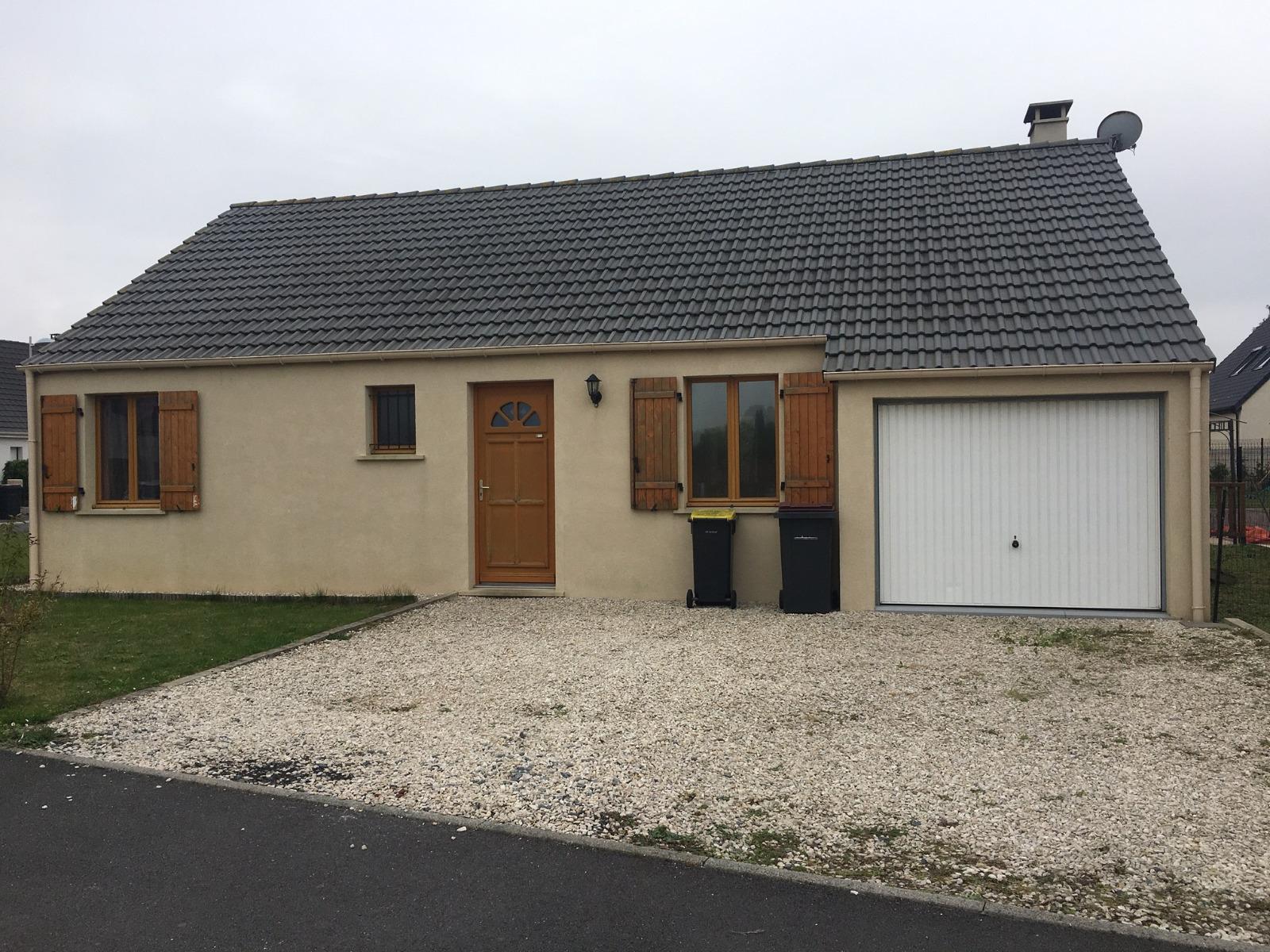 Charmant plain pied individuel avec jardin et garage dans for Location garage henin beaumont