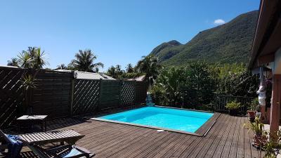 DIAMANT : Proche plage, spacieuse villa F5 avec piscine et vue mer