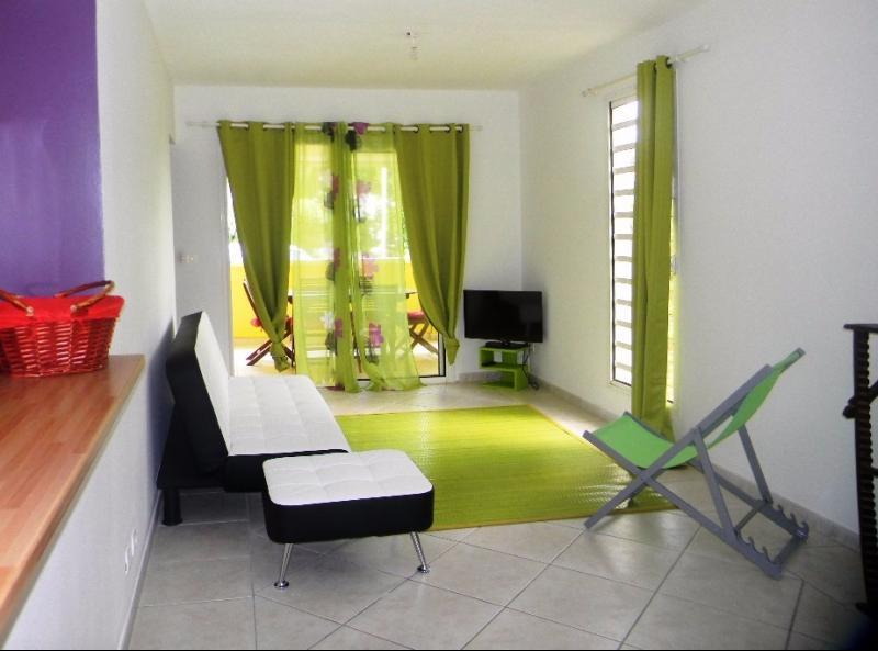 TROIS ILETS  : Exclusivité T2 spacieux en excellent état, résidence récente.