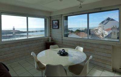St Gilles Croix de Vie - Superbe vue panoramique sur le port et la mer !