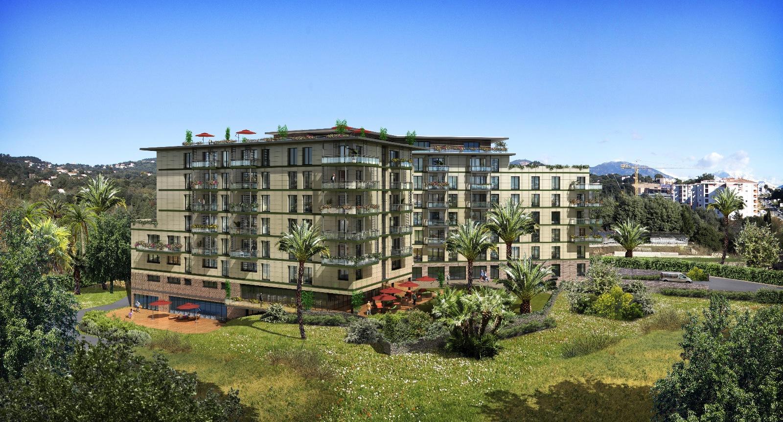 Sci ajaccio le jardin des palmiers lpt immobilier for Appartement le jardin
