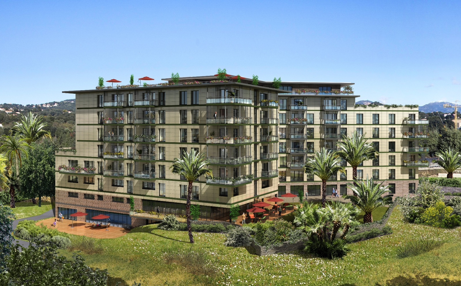 T3 residence domitys ajaccio lpt immobilier for Residence immobilier