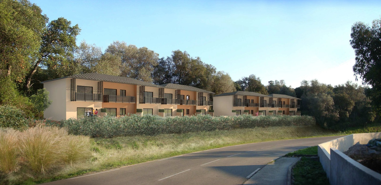 T3 residence a nepita lpt immobilier for Residence immobilier