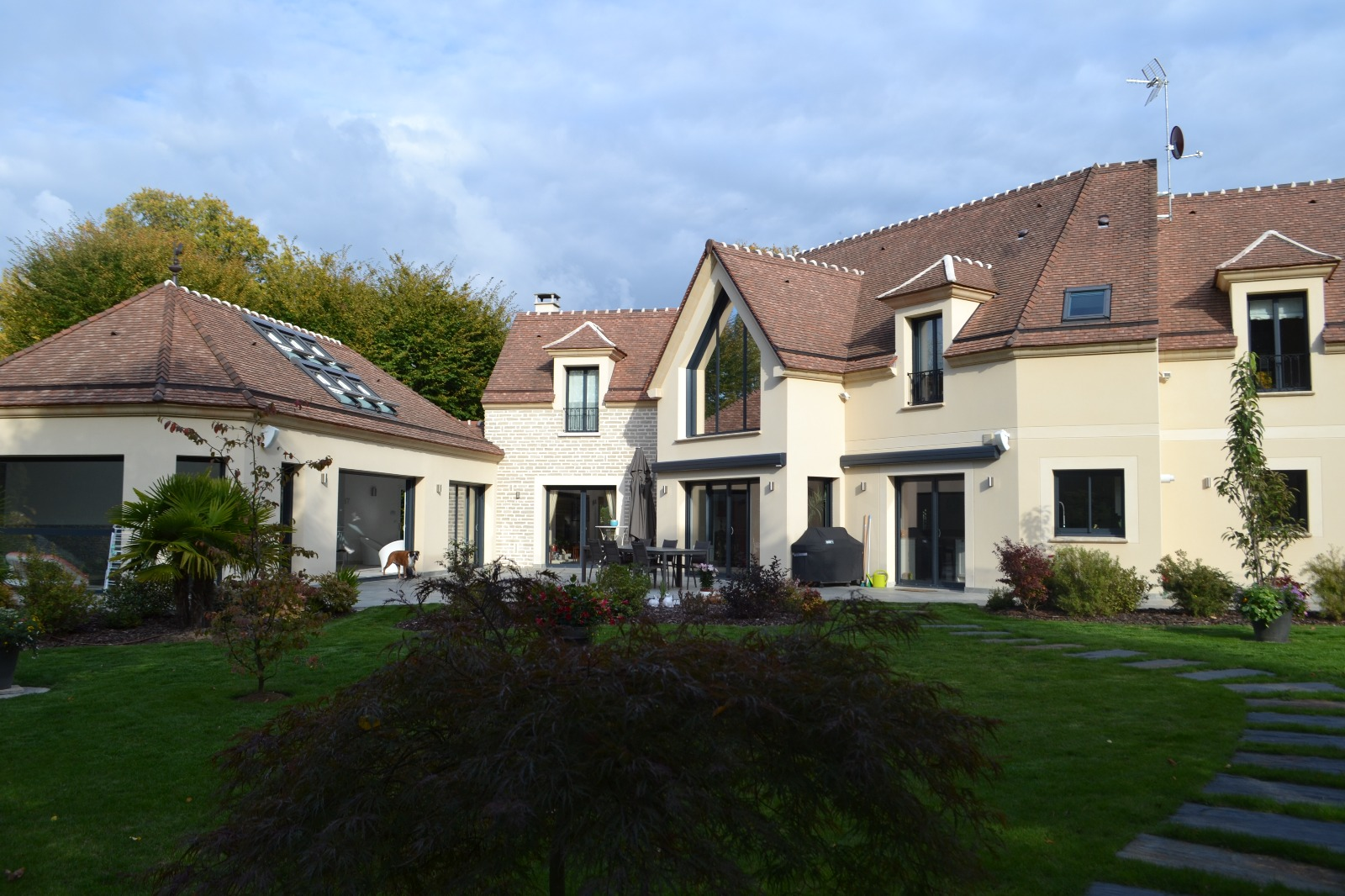 Barbizon maison contemporaine avec piscine int rieure 4 for Achat maison individuelle 77