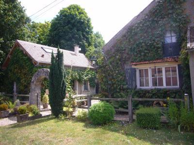 Milly-la- Forêt 15 minutes Ouest : Charmante Maison Ancienne en Pierre, Agence Immobilière en Seine-et-Marne, Carre-Immo, secteur de Barbizon