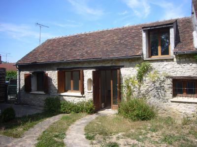 Milly-La-Forêt 20 minutes sud-ouest : Charmante maison Ancienne en Pierre., Agence Immobilière en Seine-et-Marne, Carre-Immo, secteur de Barbizon