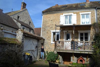 Maison en pierre au calme centre village recherché, Agence Immobilière en Seine-et-Marne, Carre-Immo, secteur de Barbizon