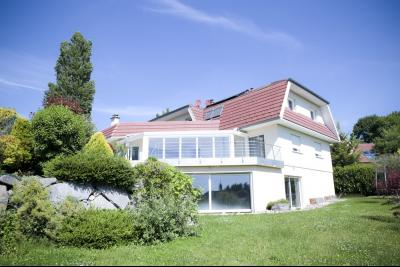 Vue: Vue Villa depuis le jardin, STERNENBERG - 20 minutes de Mulhouse, 5 minutes A36