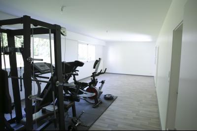 Vue: salle de sports rez de jardin, STERNENBERG - 20 minutes de Mulhouse, 5 minutes A36