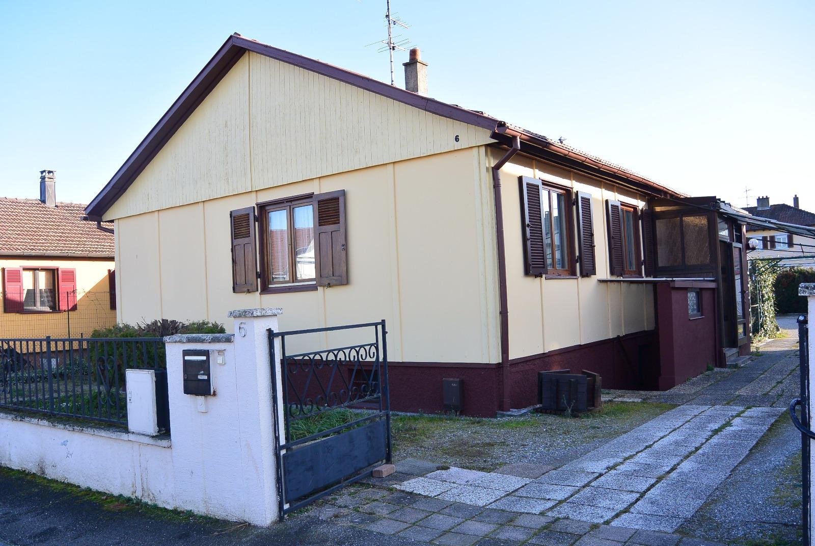 Vente maison individuelle wittenheim 68270 65m avec 3 for Achat maison individuelle wittenheim
