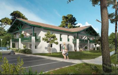 VIEUX BOUCAU LES BAINS, Appartement 51m² - 3 pièces