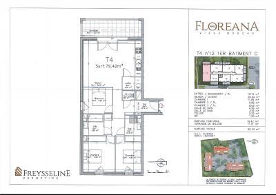 VIEUX BOUCAU LES BAINS - Appartement 50,12m² - 3 pièces