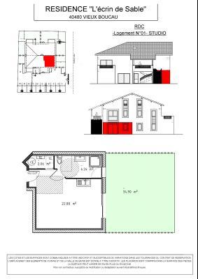 PROGRAMME NEUF Centre-ville - Grand studio 31.18m²