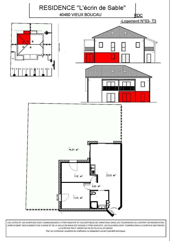 PROGRAMME NEUF Centre-ville - T3 - 50,87 m²