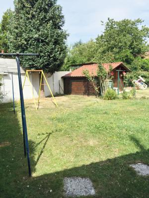 Vue: Jardin, RONCHIN Maison semi-individuelle 3 chambres, jardin et garage