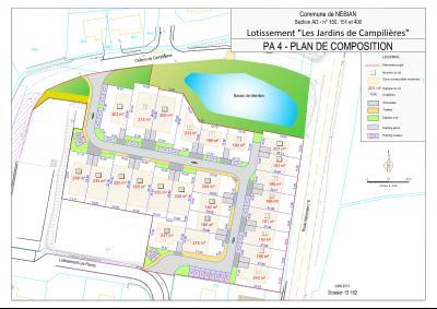 Terrain à batir de 300 m², libre de constructeur - Nebian