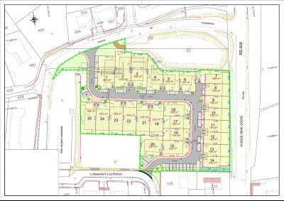 Terrain constructible -  NEBIAN - 188 m²