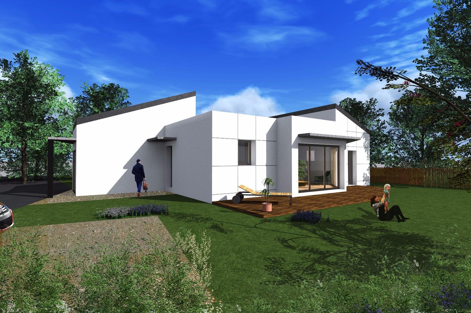 Achat contemporaine Muzillac en Morbihan (56190)Muzillac - Maison d ...