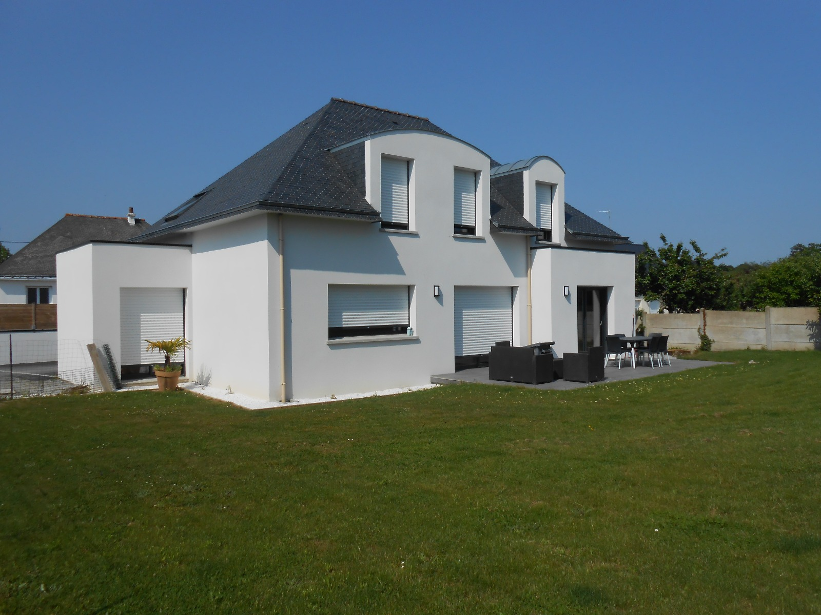 Achat traditionnelle theix en morbihan 56450 138m avec for Garage de theix