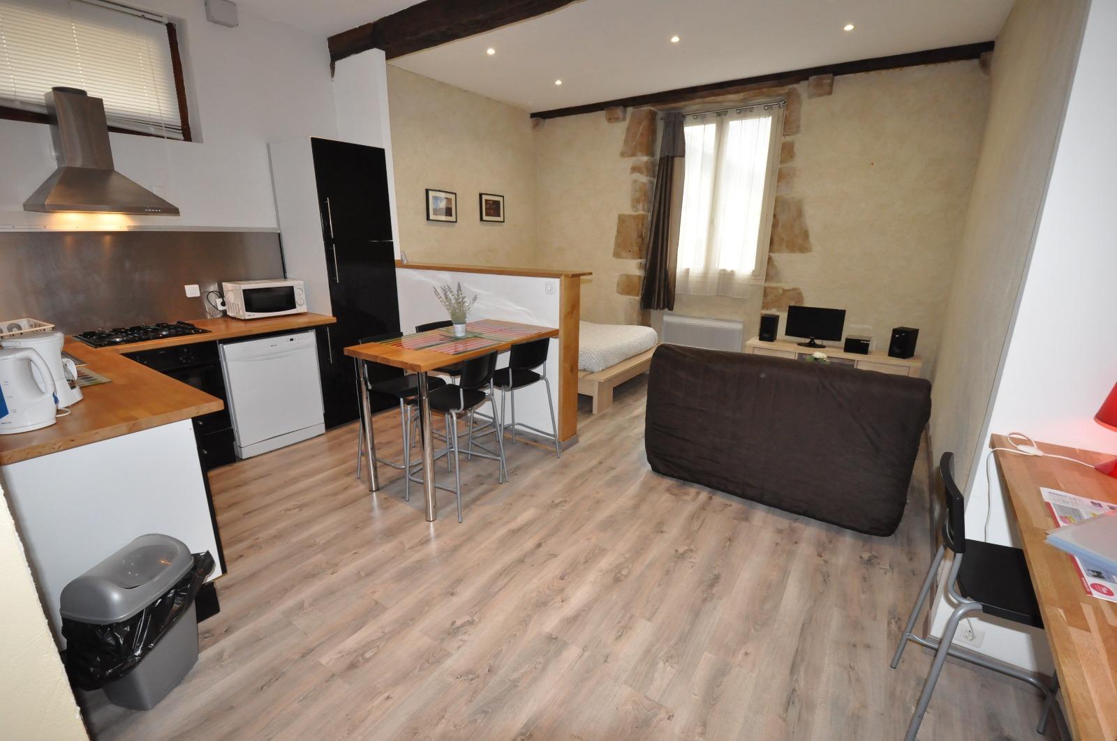 exclusivit pau hyper centre a vendre t1 meubl id al pour investisseur. Black Bedroom Furniture Sets. Home Design Ideas