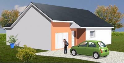 Proche Bordes - Vente maison en VEFA aux normes RT2012 de 90 m² de plain pied Agence immobilière Libre-Immo, Pyrénées-Atlantiques, à Nay et Pau