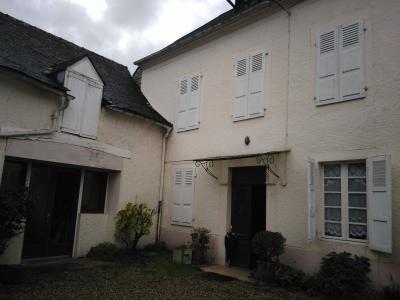 Proche NAY - Vente Maison ancienne avec 3 chambres  + grange attenante rénovée Agence immobilière Libre-Immo, Pyrénées-Atlantiques, à Nay et Pau