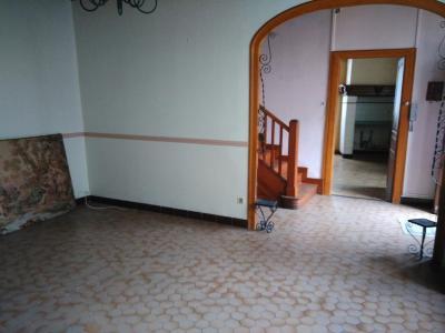Vue: Proche NAY - Vente Maison 3 chambres avec grange, Proche NAY - Vente Maison ancienne avec 3 chambres  + grange attenante rénovée