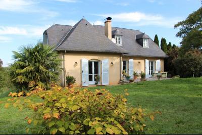 Sud NAY - Vente Grande maison de famille avec belle vue Pyrénées Agence immobilière Libre-Immo, Pyrénées-Atlantiques, à Nay et Pau