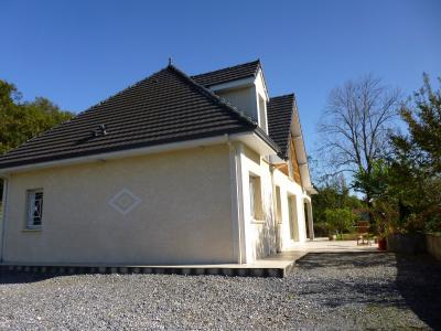 Vue: Entre PAU et TARBES - Vente en exclusivité maison 4 chambres et 1 bureau - Vue Pyrénées, Entre PAU et TARBES - Vente en exclusivité maison avec grand terrain et vue Pyrénées