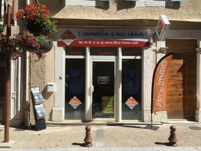 2 pièce(s)  de 60 m² env. , Agence immobilière Libre-Immo dans la région Pyrénées-Atlantiques à Nay et Pau