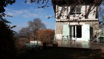 Vue: Proche NAY - Vente Maison 3 chambres avec Vue Pyrénées - Jardin clôturé de 2800 m², Proche NAY - Vente Maison 3 chambres avec Vue Pyrénées - Jardin clôturé de 2800 m²