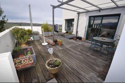 EXCLUSIVITÉ JURANCON, Lumineux T3 de plus de 100 m² avec grande terrasse sur vue Pyrénées Agence immobilière Libre-Immo, Pyrénées-Atlantiques, à Nay et Pau