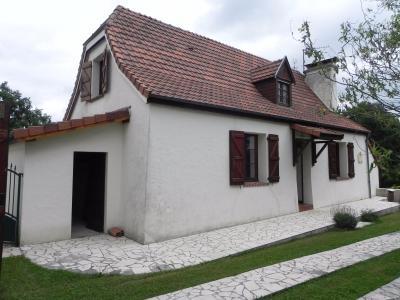 Vue: Façade, PROCHE MORLAAS, A VENDRE, jolie maison 3 chambres, garage et grand atelier