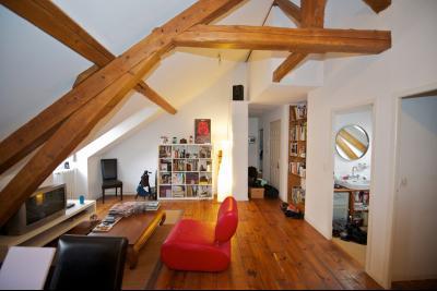 EXCLUSIVITÉ PAU, Le charme de l'ancien pour ce T3 en dernier étage, avec cave Agence immobilière Libre-Immo, Pyrénées-Atlantiques, à Nay et Pau