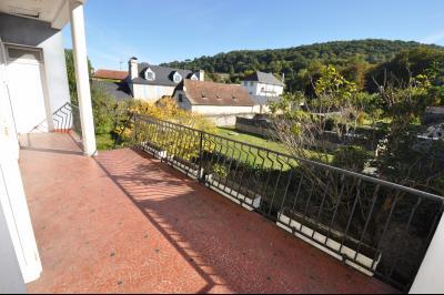 Vue: EXCLUSIVITÉ GAN, Maison de ville-Balcon, EXCLUSIVITÉ GAN, A VENDRE, Maison de ville avec 3 chambres et jardin.