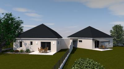 SECTEUR SAUVAGNON, Maison neuve, 3 chambres Agence immobilière Libre-Immo, Pyrénées-Atlantiques, à Nay et Pau
