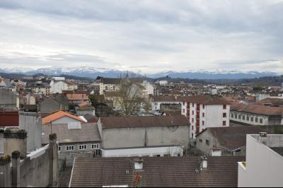 PAU, A VENDRE, Appartement T3 avec balcons vue Pyrénées et parking Agence immobilière Libre-Immo, Pyrénées-Atlantiques, à Nay et Pau