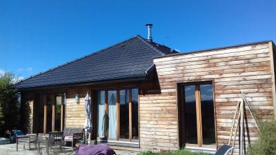 SAINT LAURENT BRETAGNE, A VENDRE maison bois BBC, 5 pièces, 126 m² Agence immobilière Libre-Immo, Pyrénées-Atlantiques, à Nay et Pau