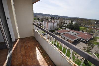 Vue: HAUT DE BILLERE-A VENDRE-T2 avec cave et parking-Balcon, HAUT DE BILLERE, A VENDRE, Appartement T2 avec cave et parking
