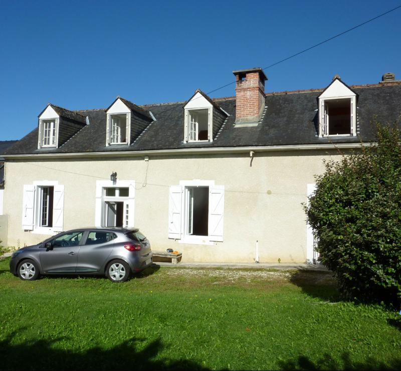 NAY - Vente Maison ancienne avec 3 chambres - Au calme, Agence immobilière Libre-Immo dans la région Pyrénées-Atlantiques à Nay et Pau