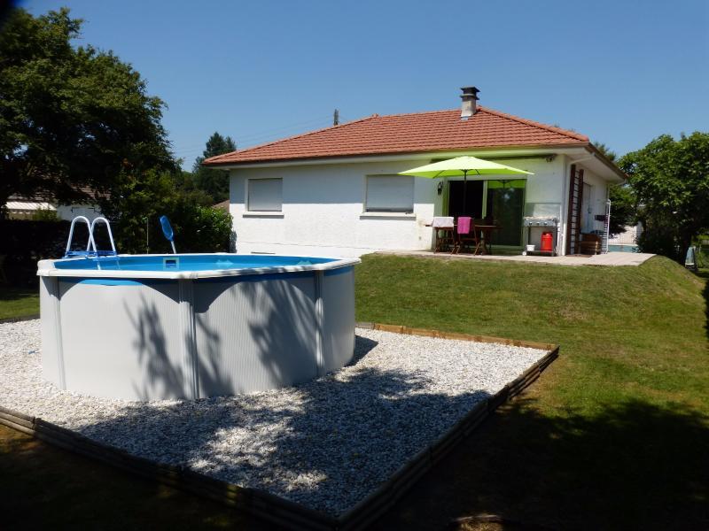 NAY - Vente Maison au calme rénovée de type T3/T4 sans vis à vis, Agence immobilière Libre-Immo dans la région Pyrénées-Atlantiques à Nay et Pau